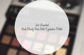 NEWS FLASH – Huda Beauty introduces FIRST eyeshadow palette